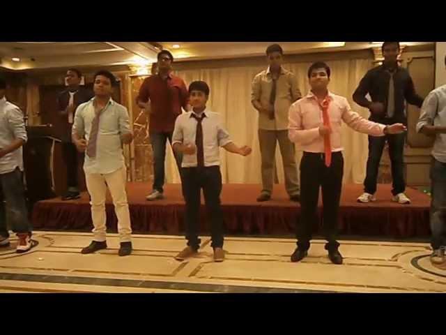 Group dance Boys - Jindal School oh Hotel Management