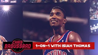 """Chris Broussard goes 1-on-1 with Isiah Thomas: """"The Last Dance"""" Reactions & more 