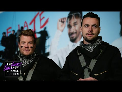 James Corden Tests His Best Friend's Loyalty w/ Damon Wayans Jr.