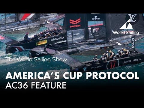 36th America's Cup Protocol | World Sailing Show - November 2017