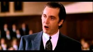 Profumo di donna Al Pacino discorso finale