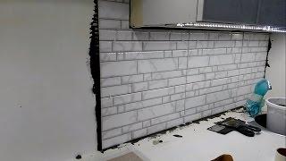 Фартук на кухне из плитки (своими руками)) Часть 2 Работа с плиткой.(, 2015-10-23T17:32:35.000Z)