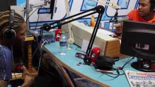 Gage on 94 1FM Radio Station in Trinidad