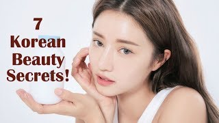 7 TOP KOREAN BEAUTY SECRETS EVERY GIRL NEEDS TO KNOW! TRY THESE AND SEE THE RESULT!!