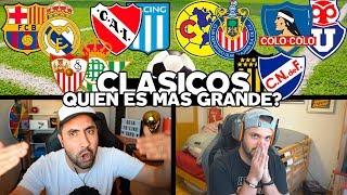 CLASICOS DE FUTBOL!!! QUIEN ES MAS GRANDE?