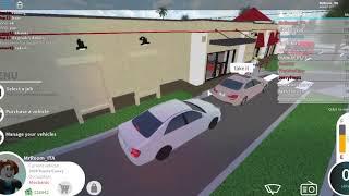 Roblox: Road rage at Drive Thru (Pembroke Pines, Florida)