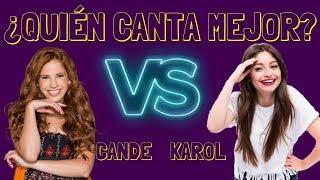 Karol Sevilla VS Cande Molfese DUELO MUSICAL ¿Quién canta ...