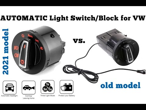 Automatic headlights Switch/Block