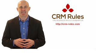 CRM Rules for CRM Dynamics 2011-2016 Admins (Intro)
