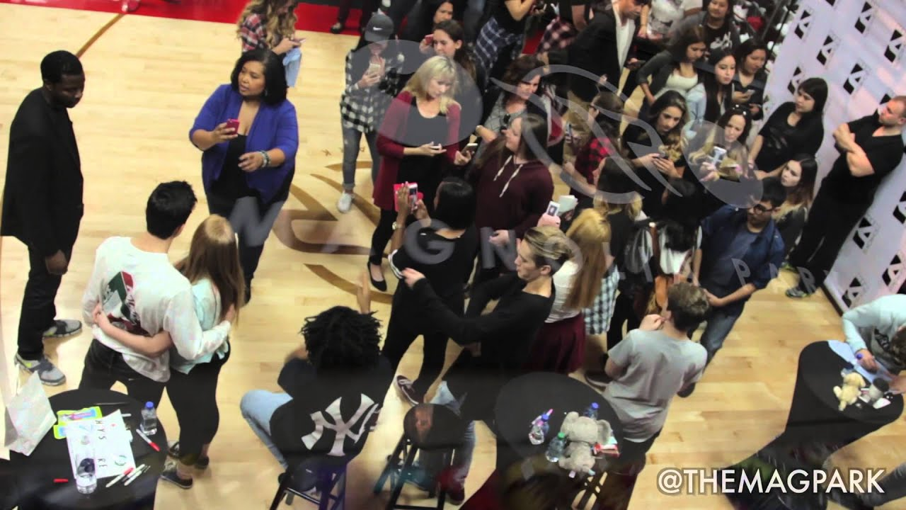 Meet and greet themagpark with hayes grier tez twan neels meet and greet themagpark with hayes grier tez twan neels charles gitnick on january 30 2016 kristyandbryce Images