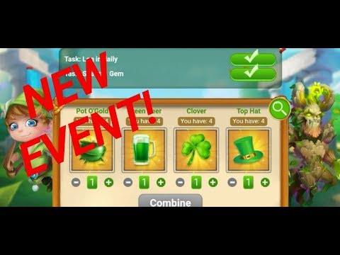 Castle Clash NEW EVENT Greenspring Lab