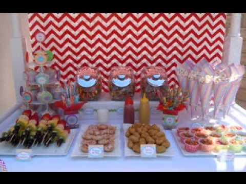 Pool party food decor ideas youtube for Pool and food