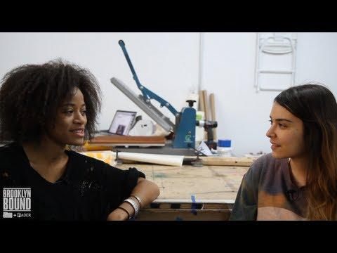 Interview with Kilo Kish at LQQK Studios - Brooklyn Bound (Episode 14)