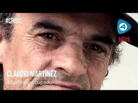 Micro testimonios de la crisis: Claudio, un albañil desocupado que recurre a un comedor hace 8 meses para poder comer
