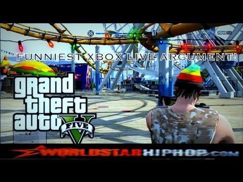 FUNNY XBOX LIVE ARGUMENT! (GTA 5 ONLINE)