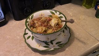 Pressure Cooker Beef Rice and Cabbage Casserole