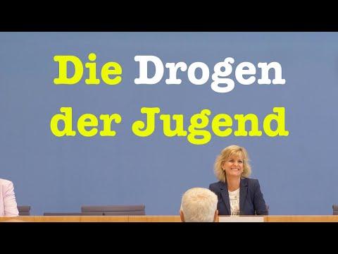Drogenbeauftragte Daniela Ludwig (CSU) über Drogenaffinität der Jugend | BPK 1. Juli 2020