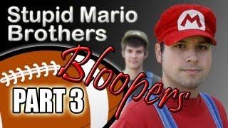 Stupid Mario Brothers Football - Part 3 Bloopers