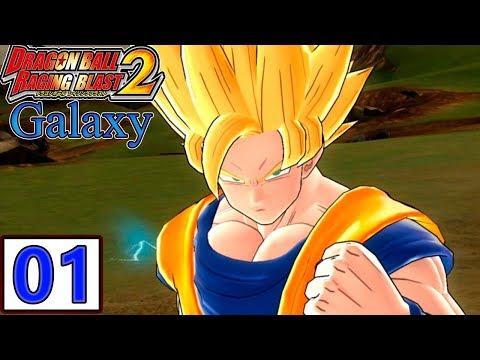 Dragon Ball Z Raging Blast 2 - Goku Galaxy Mode PT BR (modo galáxia) - Gameplay