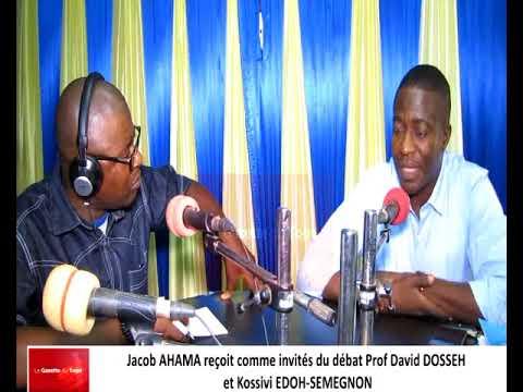 Prof. David DOSSEH et Kossivi DOH-SEMEGNON reçus comme invités du débat par Jacob AHAMA