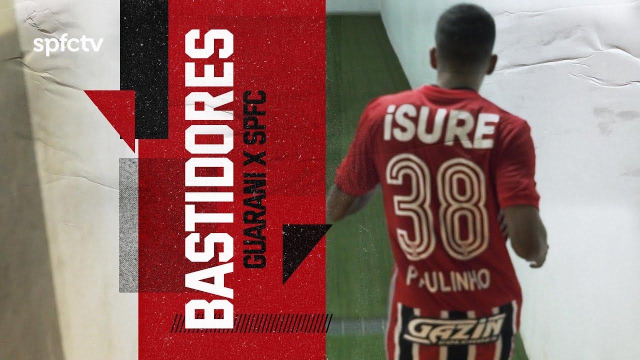 BASTIDORES: GUARANI 1x3 SÃO PAULO | SPFCTV