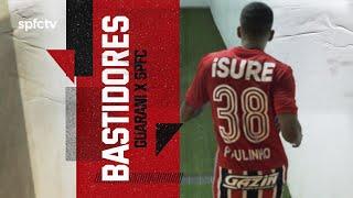 BASTIDORES: GUARANI 1x3 SÃO PAULO   SPFCTV