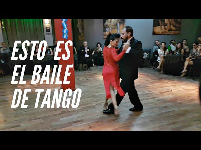 Daniel Nacucchio, Cristina Valeria Sosa, baile de tango profesional, milonga porteño y bailarin
