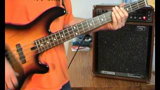 Mud - Tiger Feet - Bass Cover
