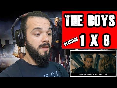 REACTION THE BOYS 1 x 8 - Final de temporada (+16)