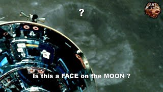 Is This a FACE on the MOON ? Crater Structures - ArtAlienTV