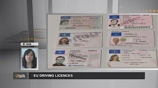 Avrupa Birliği'nde sürücü ehliyeti uygulamaları utalk