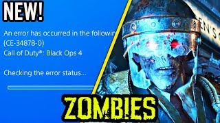 HUGE BLACK OPS 4 ZOMBIES UPDATE: QUAD EVENT, 70+ ISSUES FIXED & HIGH ROUNDS ISSUES EXPLAINED!
