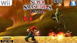 Super Smash Bros. Brawl - Wii Gameplay 1080p (Dolphin GC/Wii Emulator)