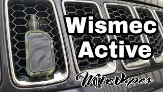 Wismec Active 80w - BlueTooth Speaker Vape - Mike Vapes