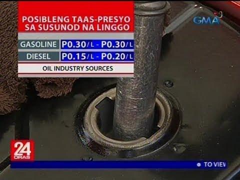 Taas-presyo sa petrolyo ang nakaamba sa susunod na linggo, ayon sa oil industry sources