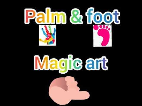 Palm & Foot Magic Art & Craft