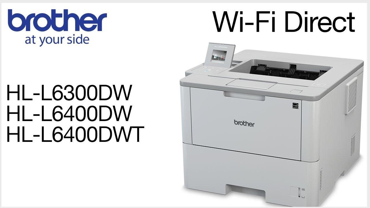 BROTHER HL-L6300DW(T) PRINTER DRIVERS DOWNLOAD (2019)
