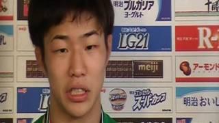 男子フリースタイル57kg級・中村倫也(専大)