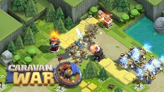 Copia de Clash of Clans? Gameplay de Caravan War o novo Clash of Clans para Android