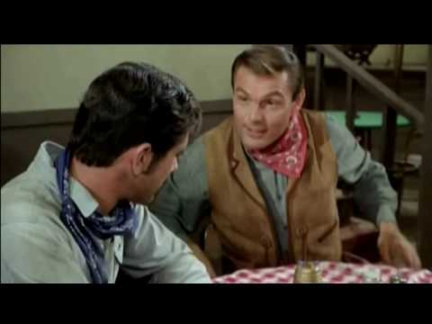 Adam West On Laramie As Kett Darby An Outlaw (Season 4 Ep. 16)