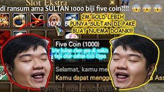 ''1000 FIVE COIN'' DI PAKE BUAT GAS NUEMA DOANK!!!!!! (bukan char gua sih -_- )