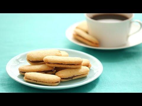 DIY Mint Milano Cookies