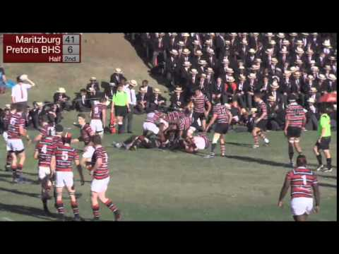 Maritzburg College XV vs Pretoria Boys High XV - 1 August 2015
