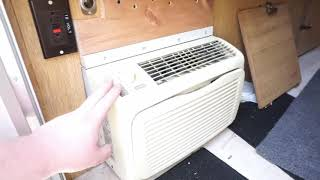 truck camper air conditioner installation