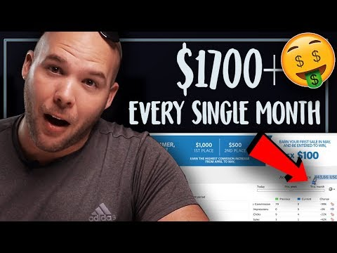 How to Make $1700+ a Month — Easy Affiliate Marketing 2018