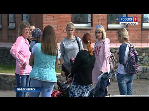 Жители одного из дворов в Первомайском районе жалуются на отсутствие детской площадки