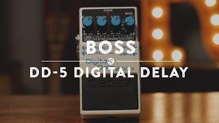 Boss DD-7 Digital Delay | Reverb Demo Video