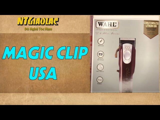 Review tông đơ magic clip cordless TƯỜNG BARBER