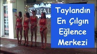 Sex Turizminin Merkezi Tayland Pattayanın Ladyboylarıyla Ünlü Walking Streeti Geziyoruz :) # Vlog