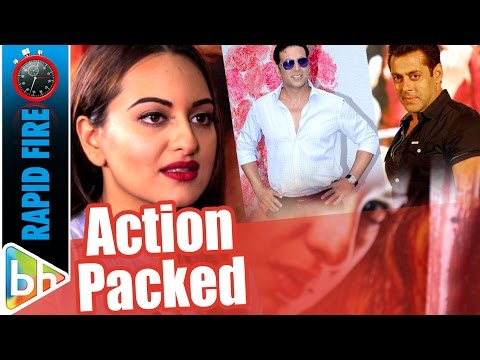Sonakshi Sinha's ACTION PACKED Rapid Fire On Salman Khan, Akshay Kumar, Ranveer Singh